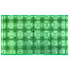 "90x150mm Double-Side Prototype Board PCB, FR-4 Glass Fiber, 3.6"" x 6"""