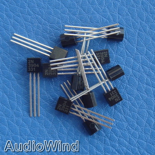 50pcs 2N3904 NPN General Purpose Transistor,3904.