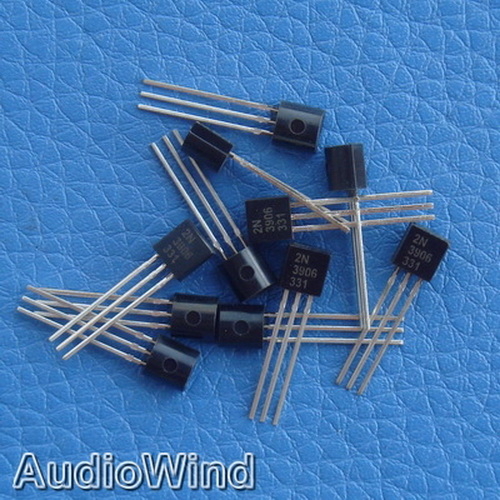 50pcs 2N3906 PNP General Purpose Transistor,3906.