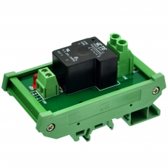 CZH-Labs DIN Rail Mount 12V Passive SPST-NO 30Amp Power Relay Module.
