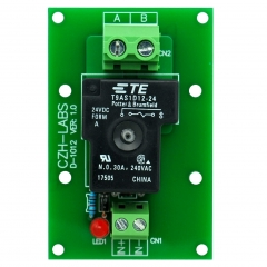 CZH-Labs 24V Passive SPST-NO 30Amp Power Relay Module Board.