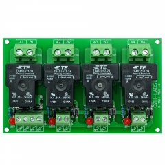 CZH-Labs 24V Passive 4 SPST-NO 30Amp Power Relay Module Board.