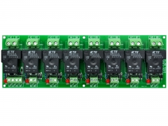 CZH-Labs 12V Passive 8 SPST-NO 30Amp Power Relay Module Board.