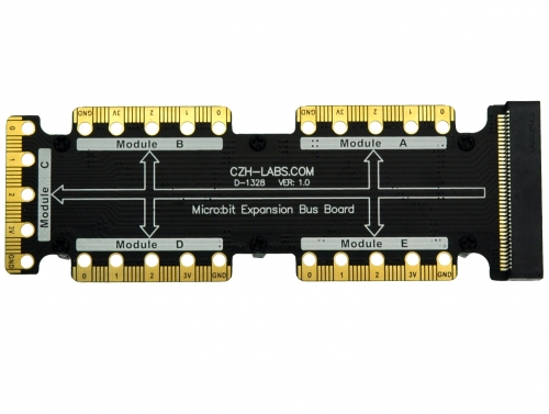 Expansion Bus Board for BBC micro:bit, Microbit Buss Board.