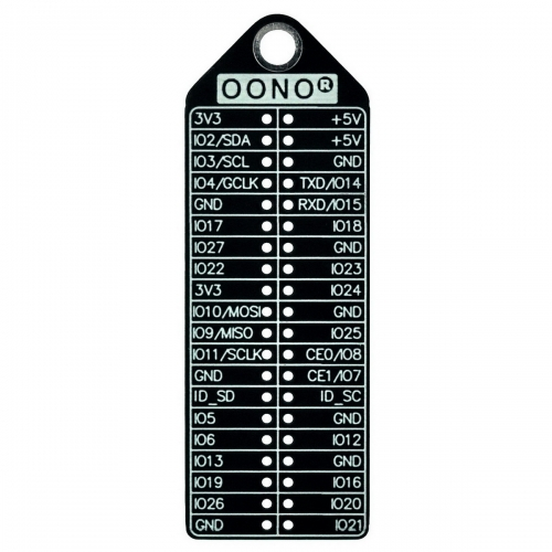 GPIO Name BCM wPi Pinout Reference Card for Raspberry Pi Model A+, B+, Zero, 2, 3, 3B+, 4B