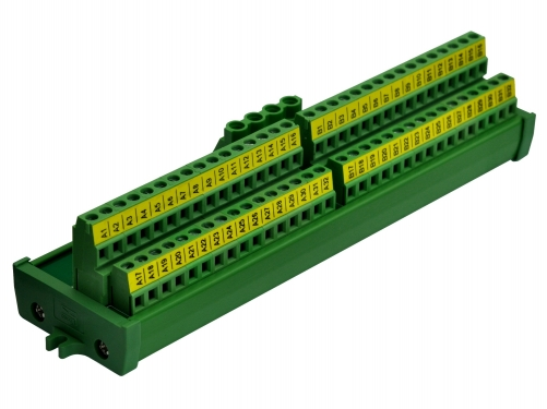 Screw Mount 2x32 Position Screw Terminal Block Power Distribution Module
