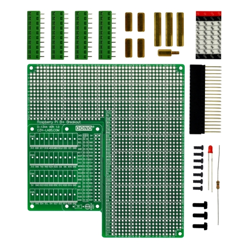 Prototype DIY PCB Terminal Block Board Kit for Raspberry Pi
