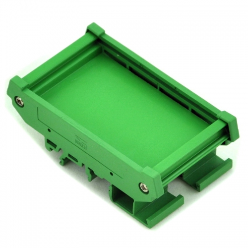 DIN Rail Mount Carrier, for 47.35mm x 72mm PCB, Housing, Bracket