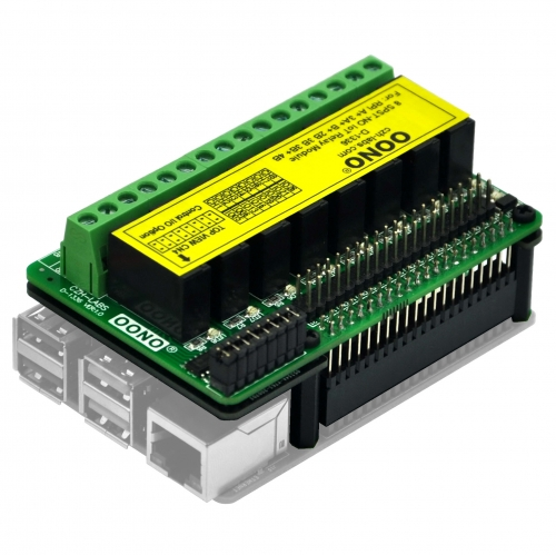8 SPST-NO RPi IoT Power Relay Module for Raspberry Pi A+ 3A+ B+ 2B 3B 3B+ 4B