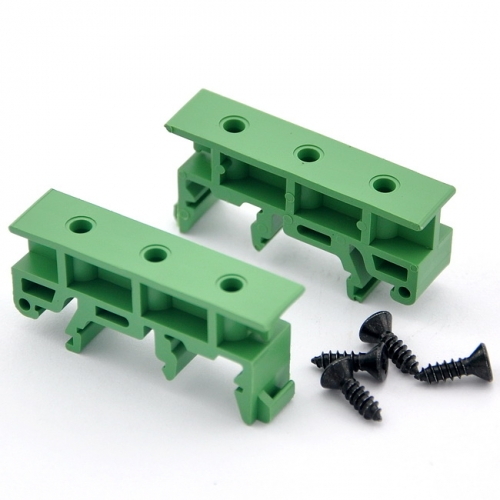 DIN Rail Mounting Adapter Bracket Holder Carrier Clips, for 35mm, 32mm or 15mm DIN Rail.