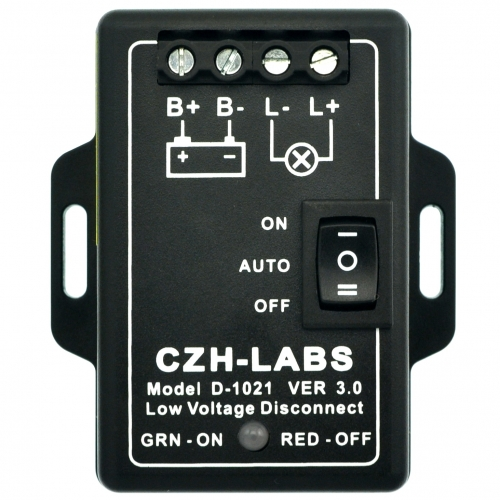 CZH-LABS Low Voltage Disconnect Module LVD, 18V 30A, Protect/Prolong Battery Life.