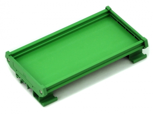 DIN Rail Mount Carrier, for 100mm x 72mm PCB, Housing, Bracket