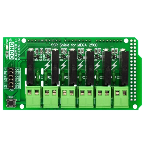 Solid State Relay SSR Board for Arduino Mega-2560 Due