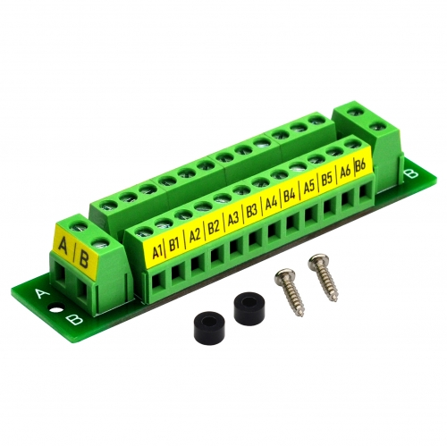 OONO 16Amp 48V 2x12 Position Terminal Block Distribution Module