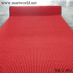 2020 PVC non-slip red carpet for wedding party event hotel decoration