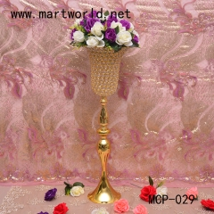 2020 gold wedding centerpiece flower stand for wedding party event decoration hotel decoration home decoration
