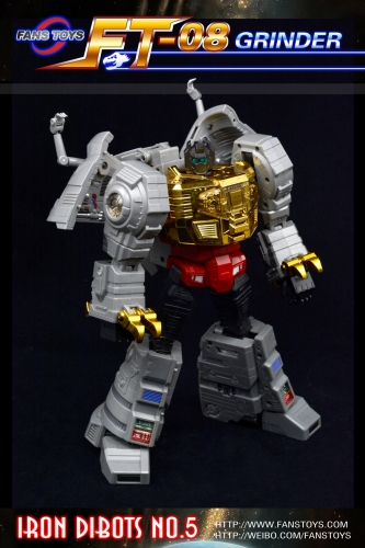 Transformer FansToys FT-08 Grinder - Iron Dibots-Reissue