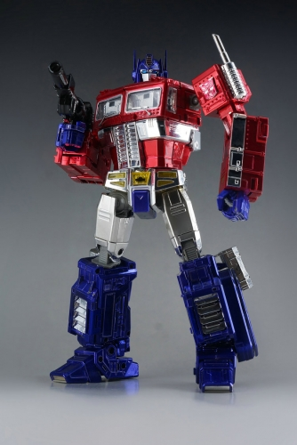 Transformers Toy Non-brand Masterpiece MP10X MP-10X Optimus Prime Chrome Version