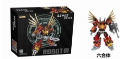 Transformer Toy Jinbao Version MMC Feral Rex Predaking Oversized Set Of 6  with original box