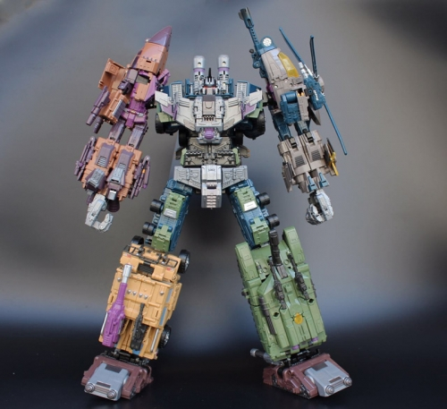 Transformer Toy JinBao Robot Oversized Bruticus OS Warbotron Combiner LOOSE without box