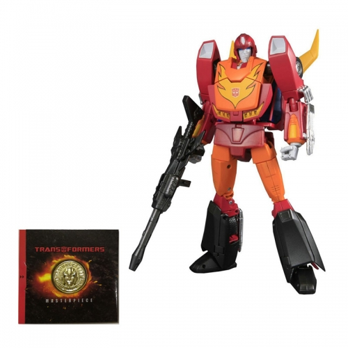 Transformer Toy Takara Tomy Original Masterpiece MP-09 MP09 Rodimus Convoy Reissue Asian 3C Limited WITH COLLECTOR'S COIN