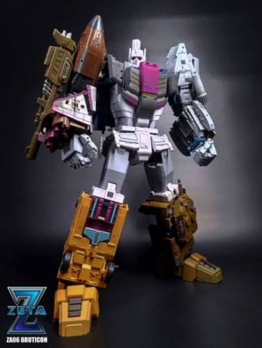 Transformer Toy Zeta Toys ZT ZA-06 ZA06 Bruticon Bruticus Full Set of 6 Toon Version