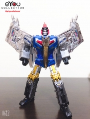 2nd batch Transformer Toy GigaPower GP HQ-05R HQ05R Gaudenter Swoop Blue Chrome Version Dinobots