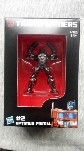 Transformers Toy Takara Tomy Original Masterpiece MP-34 COIN #2 Opimus Primal