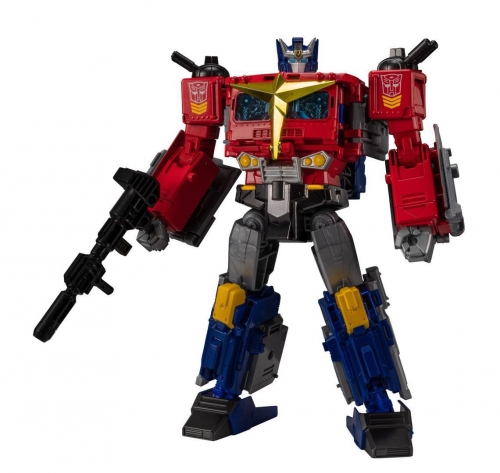Transformer Generations Selects Star Convoy Exclusive Optimus Prime OP with Trailer