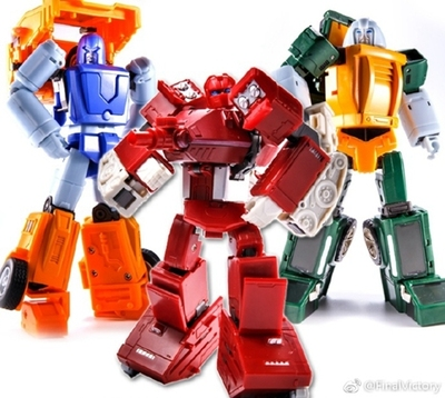 Transformer Final Victory FinalVictory FV Warpath Brawn Huffer G1 Set of 3