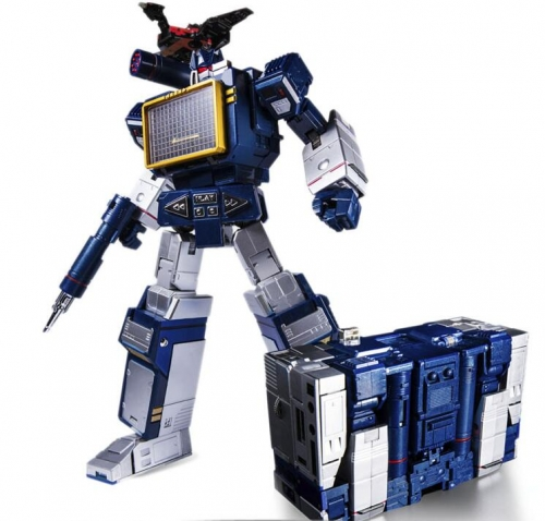 (In stock) Transformers Toy House Factory THF-01J THF01J Soundwave (with Laserbeak)