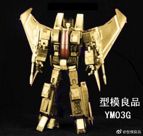 Transformer Yes Model YM YM-03G YM03G MP-11 MP11 Starscream Golden Version