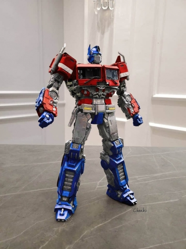 Standard Version: Transformer ToyWorld Toy World TW TW-F09 TWF09 Freedom Leader Bumblebee Movie Optimus Prime OP
