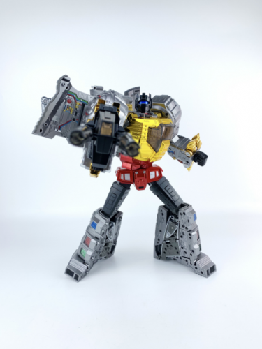 Transformer Toy Gigapower GP HQ-01R HQ01R Superator Grimlock Chrome Version Dinobots
