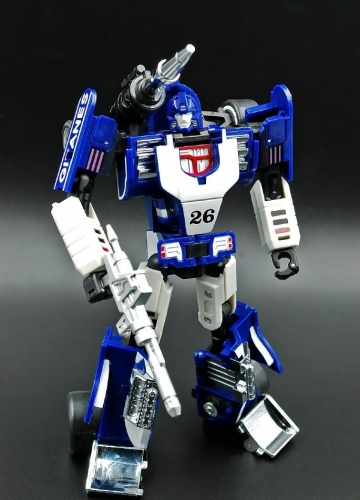 Transformer DX9 Toys D03 D-03 Invisible Mirage Sphinx G1 MP Scale Chrome Painting Reissue