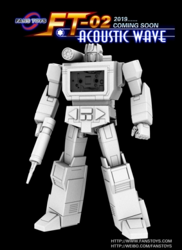 Transformer FansToys Fans Toys FT FT-02 FT02 Soundwave Acoustic Wave