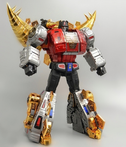 Pre-order!Transformers Toy Gigapower GP HQ-03R HQ03R Guttur Snarl Chrome Version Dinobots Reissue