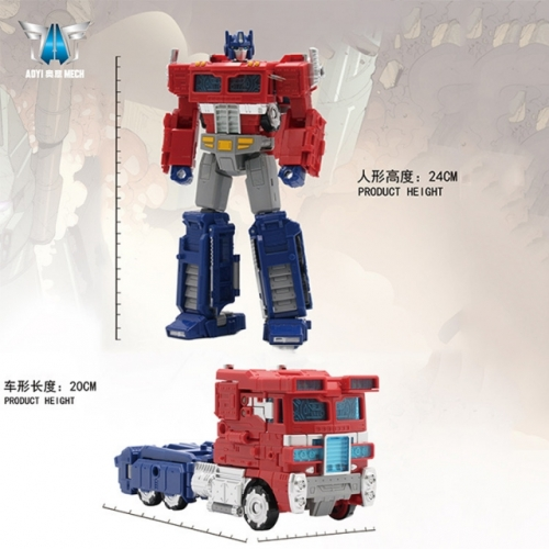 (Black Mamba) Aoyi Mech H6002-10A Optimus Prime Oversized War for Cybertron: Siege