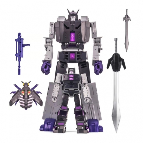 DX9 Toys Atilla Stunticons Combiner D-14 D14 Capone Motormaster Montana