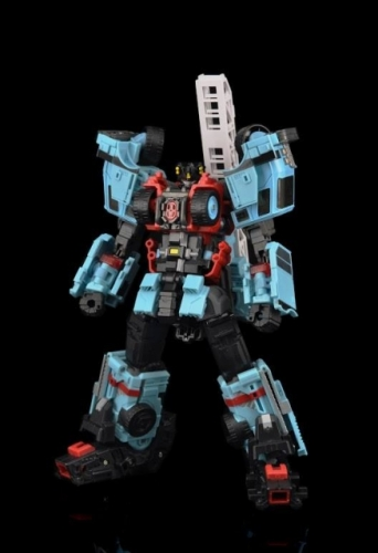 Yes Model YM17 YM-17 Vulcan Hot Spot Inferno- Transformer Combiner Oversized OS Defensor --body torso