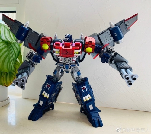 Civil Warrior CW-01 CW01 General Grant Optimus Prime WITH Trailer