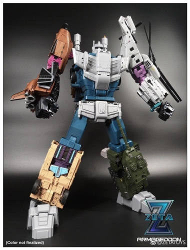 Replacement Head for Zeta Toys Armageddon G1 Bruticus Masterpiece