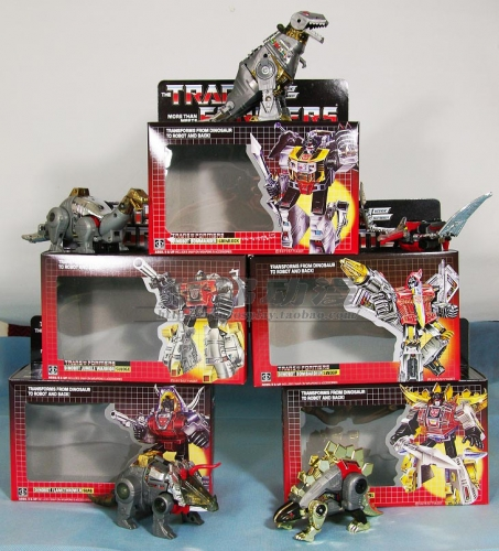 Transforms G1 KO Dinobots set of 5