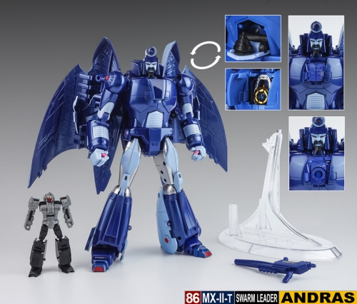 (In stock!Faster delivery!)Transformers X-Transbots Xtransbots XTB MX-IIT Andras Scourge G1 Cartoon Version