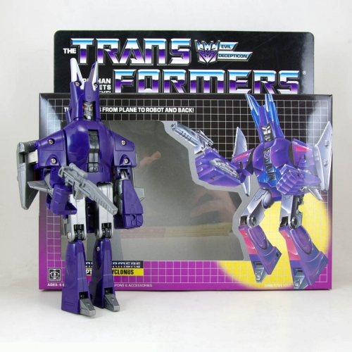 Transformmers Toy G1 Cyclonus  KO