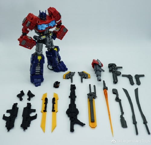 Transformers LegendaryToys LT-03 LT03 Optimus Prime MTCD-01 God Ginrai Thunder Manus MP-10 MP10