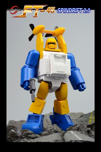 (In stock)Transformers FansToys Fans Toys FT FT-45 FT45 Spindrift Seaspray Version 2.0