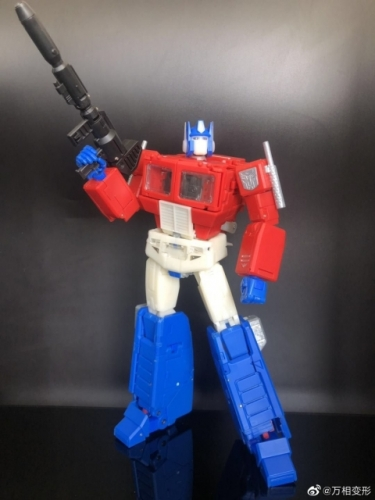 (Pre-order) With New Joints&Lots Die-cast&LED Sound Effect!~None Brand Transformers Masterpiece MP44 MP-44 Optimus Prime Version 3.0 OP