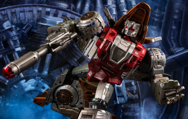 Transformers Toy GigaPower GP HQ-02X HQ02X Grassor Slag Metallic Weathered Version Gigasaurs