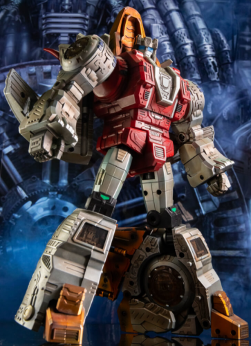 (In stock)Transformers Toy GigaPower GP HQ-02X HQ02X Grassor Slag Metallic Weathered Version Gigasaurs